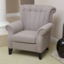 linen club chair shop best selling home decor waldorf casual light mocha linen club