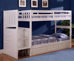 cambridge stair stepper bunk bed white bedroom furniture discovery world furniture white staircase bunk bed 0214 bunkbed with stairs
