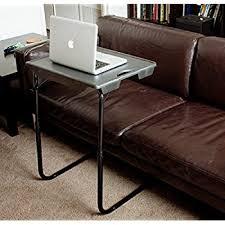 amazon com azadx tv tray portable folding snack table