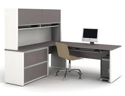 Modern Desk With Storage by Home Design Cheap Small L Shaped Desk For Office Room Designs