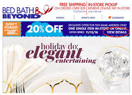 Bed Bath N Beyond Coupon Bed Bath U0026 Beyond