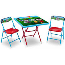 Mickey Mouse Activity Table Disney Mickey Mouse Playroom Solution Walmart Com