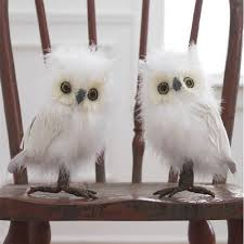 white feathered owls 8 set of 2 price 31 95 http www