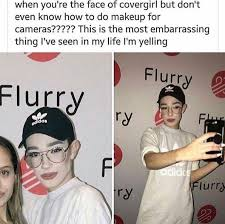 Cover Girl Meme - james charles little snowflakes pretty ugly little liar