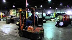 hyster h20e forklift youtube
