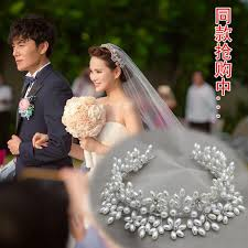 for brides aliexpress buy 1pc x hair crowns for brides artificial pearl