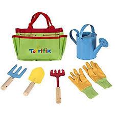 amazon com g u0026 f 10012 justforkids kids garden tools set with