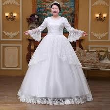 sleeve wedding dresses plus size bell sleeve wedding gown yobebee