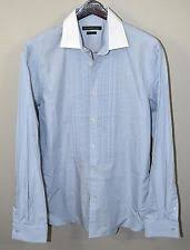 john varvatos french cuff dress shirts for men ebay