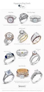 wedding ring styles simon g engagement ring styles for every bridal jewelry