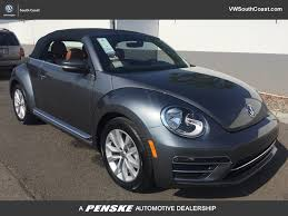 volkswagen beetle blue new volkswagen beetle convertible at volkswagen south coast