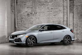 2017 honda civic hatchback pairs a turbo and a manual carfax