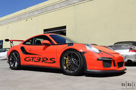 orange porsche 911 gt3 rs lava orange porsche 991 gt3 rs bbi side muffler delete install