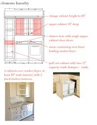 Laundry Room Cabinet Height by Design Dump October 2015