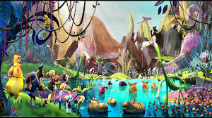 cloudy world wallpapers cloudy with a chance of meatballs 2 wallpaper by justin petrie on