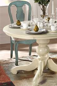 Painted Kitchen Tables And Chairs by Blue Antique Style Dining Table And Chairs From Home Decorators