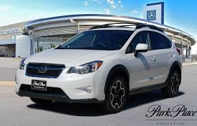 2014 Forester Roof Rack by 2014 Satin White Pearl Subaru Xv Crosstrek 2 0 L For Sale Park Place