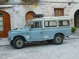 red land rover old old land rover series ii in valldemossa mark wiewel flickr