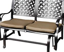 Retro Glider Sofa by Furniture Awesome Patio Furniture Glides Explore Patio Glider