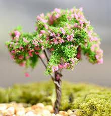 1pcs miniature tree plants garden accessories dollouse