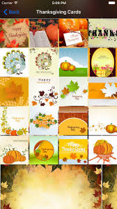 thanksgiving photo frames and cards on the app store