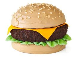 Cake Cheeseburger Cake Recipe Food Network Kitchen Food Network