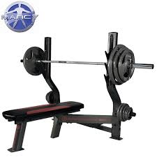 weight and bench set pure fitness and sports marcy monster olympic weight bench