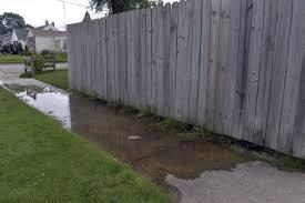 fix it sump pump discharge causes slippery sidewalk fix it