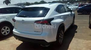 2018 automatic white petrol lexus nx for sale cheki