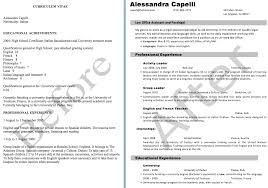 personal statement resume resume for your job application