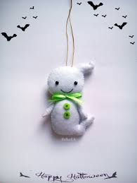 Decor Halloween Ghost Cute Toys Kawaii Little Plush Boy Ghost Tree