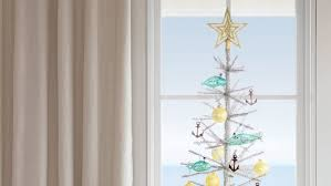 Christmas Tree Translucent Window Decorations by Coastal Christmas Trees Coastal Living