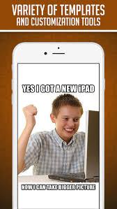 Custom Meme App - funny insta meme generator make custom memes with lol pics troll