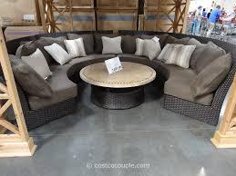 Patio Furniture Sets Costco Outdoor Sectional Sofa Costco Functionalities Net