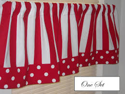Black And White Polka Dot Curtains Black And White Striped Kitchen Curtains