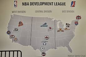Nba Map Diginpix Entity Nba Development League