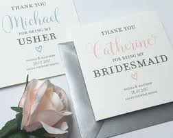 bridesmaid invitations uk wedding thank you cards etsy uk