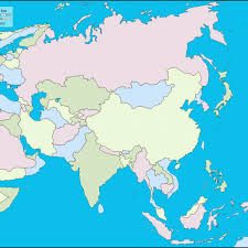 asia east map blank east asia map map of usa