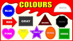 colours for children to learn how to learn colors names kids