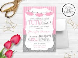 tutu invitations for baby shower kawaiitheo com