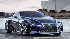 lexus lf lc 2012 lexus lf lc blue hybrid concept 500 hp youtube