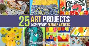 pattern art famous art projects inspired by famous artists post impressionism