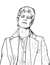 david bowie coloring book google search coloring pages