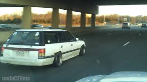 slammed jdm cars jdm subaru rusty beater wagon with attitude lol youtube