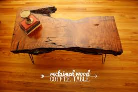 diy reclaimed wood coffee table hello lidy