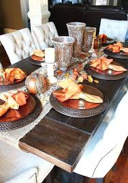 Dining Table With Food How To Decorate Dining Table Vanessadore