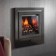 modern gas fire crystal fires royale hole in the wall gas fire