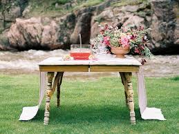 change of season wedding inspiration with earth tones ruffled