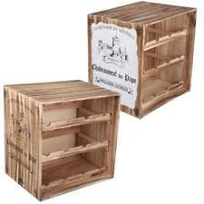 wine rack vintage general wooden 12 bottle storage crate holder