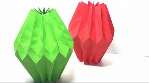 Paper Crafts For Home Decor Origami Tutorial How To Origami Home Decor Paper Crafts For